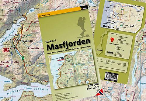 kart over nordhordland Turkart Masfjorden kart over nordhordland